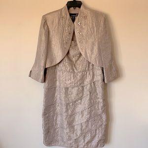 Laura Petite 14P Beaded Dress